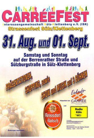 Carréefest 31.08. und 01.09.