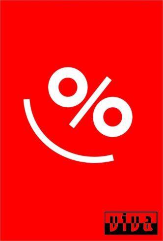 Es gibt Prozente!