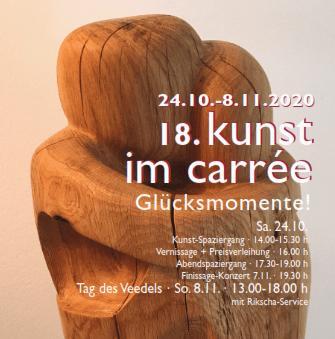 Kunst im Carrée 2020 und verkaufsoffener Sonntag am 08.11.2020